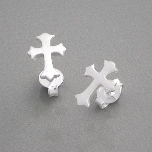 Kreuz Ohrstecker 925 Silber | günstig online kaufen bei edelwert