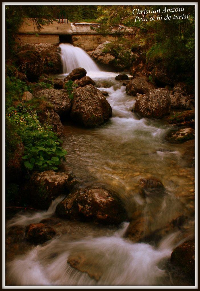 landscape in Bucegi mountains...