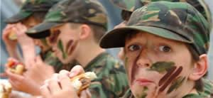 Kids Army Party
