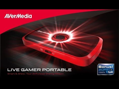 Placa de Captura Live Gamer Portable HD Avermedia - Xbox 360, ps3 e wii ...