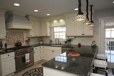 u-shaped kitchen - traditional - kitchen - chicago - The Kitchen Studio of Glen Ellyn