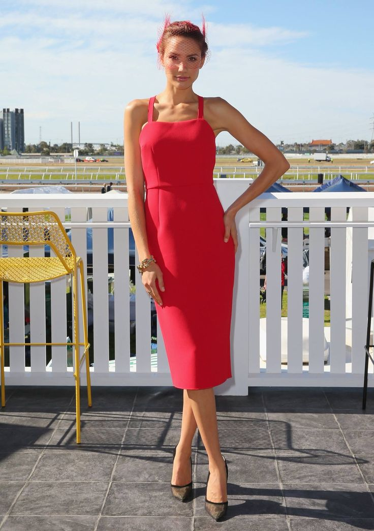 YEOJIN BAE | 2014. Worn by Rachel Finch at the Melbourne Cup Carnival.