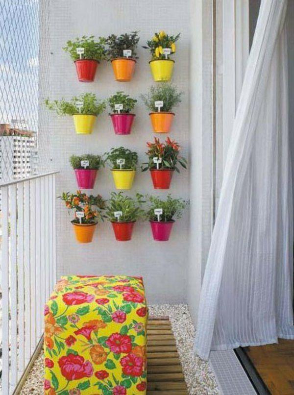 pot de fleurs pour le balcon des condimentaires ikea