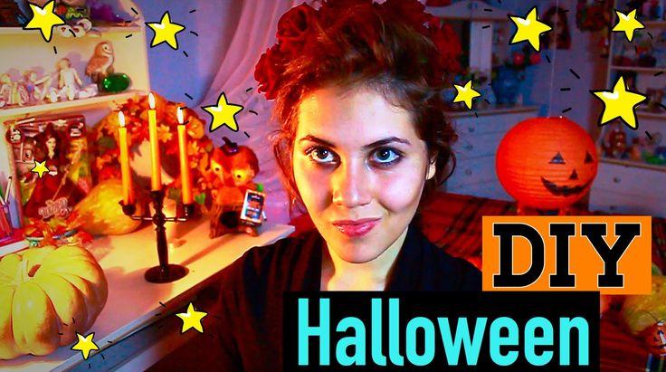 DIY Halloween l Украшаем Комнату На Хэллоуин