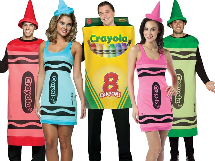 Group Fancy Dress Ideas For Hen Party: A Great Group Costume Idea! Nothing Says A Hen Or Stag