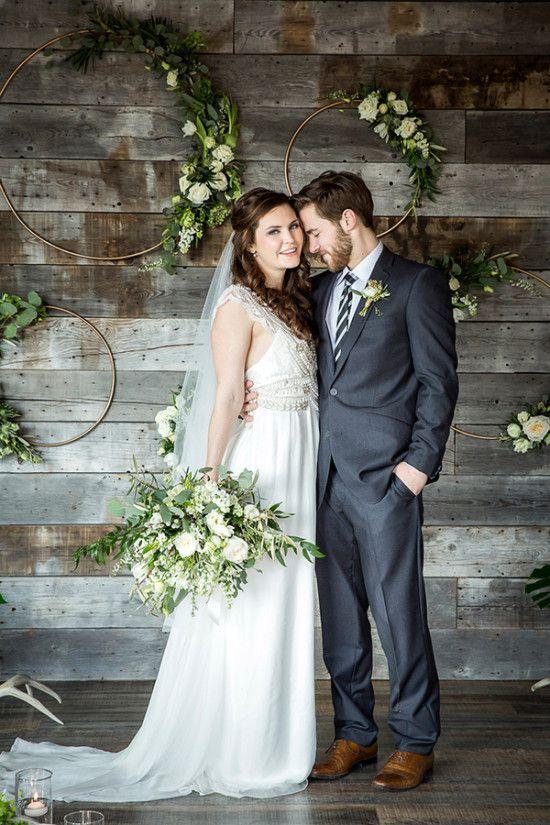 17 Best Ideas About Modern Rustic Weddings On Pinterest Simple Wedding Invitations Handmade