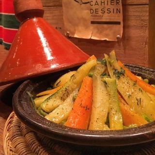 京都「jajouka ジャジューカ」タジン鍋 モロッコ料理 フランス料理