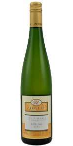 2010 Ziegler Riesling    Winemaker's Notes: Riesling is the pride of Alsace, with a delicately fruity bouquet and great finesse, it is incomparable with fish, shellfish, seafood, white meats, and of course sauerkraut. It accompanies with distinction the most refined dishes.    Was $17.99, ON SALE $12.99