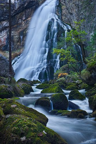 Golling Waterfall ~ Salzburg, Austria