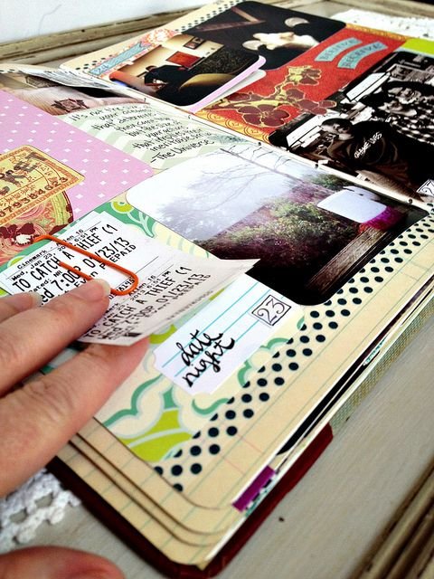 Project Life January Details by Alisa Noble. Lots of great pics. One of my goals for this year is to begin working on my journals and scrapbooks to overall create more memories.