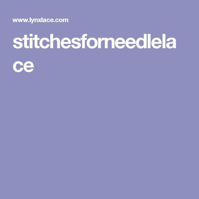 stitchesforneedlelace