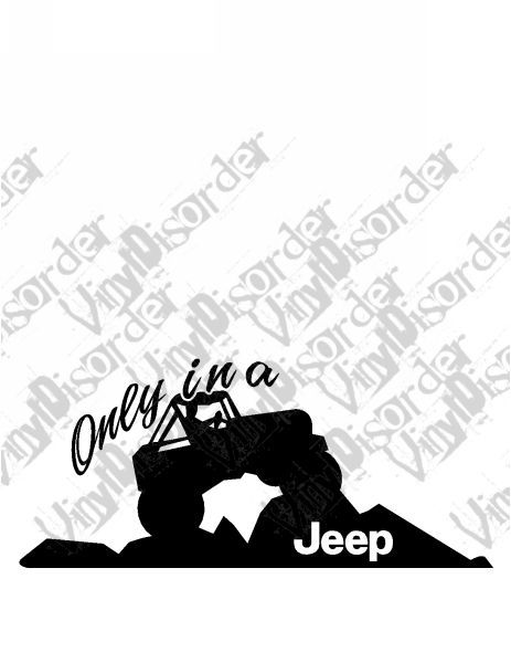 Jeep 4x4 4 x 4 offroad rock climbing vinyl decal car window stickers 08