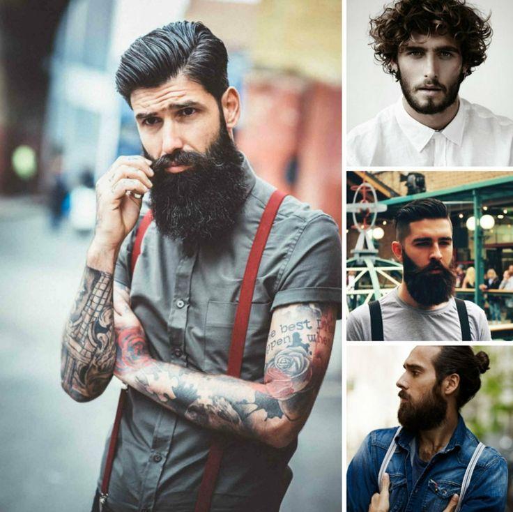 frisuren mit bart trends kombinationen herren styling ideen
