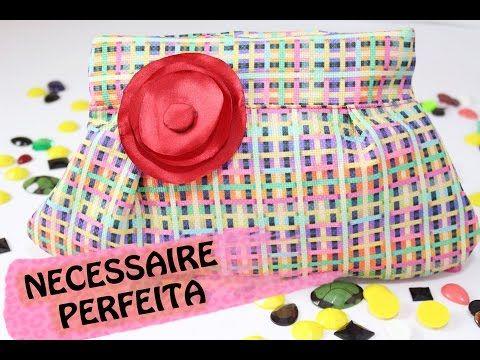DIY- APRENDA UMA NECESSAIRE PERFEITA! ft. MINHA MÃE - YouTube