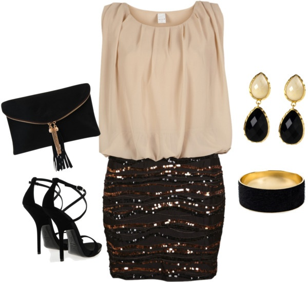 """Night out"" by elainel472 on Polyvore"