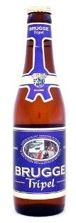 Cerveja Brugge Tripel, estilo Belgian Tripel, produzida por Palm, Bélgica. 8.7% ABV de álcool.