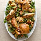 Try the Roasted Chicken with Warm Bread Salad Recipe on williams-sonoma.com