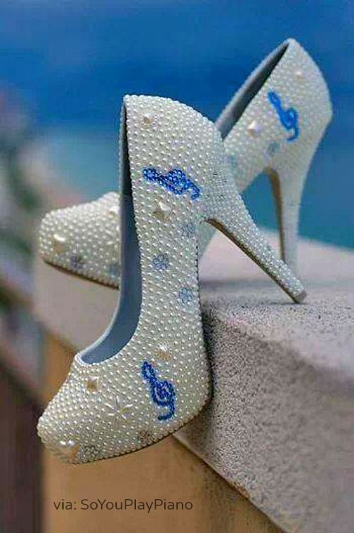 Piano music shoes for your recital