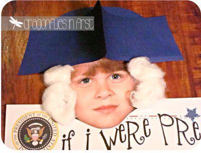If I Were President. President Day Activities. George Washington