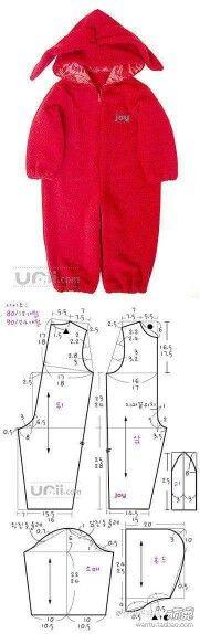 Pola baju kodok anak
