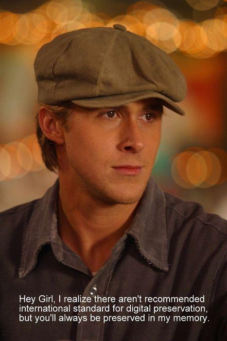 "Ryan Gosling ""Hey Girl,"""