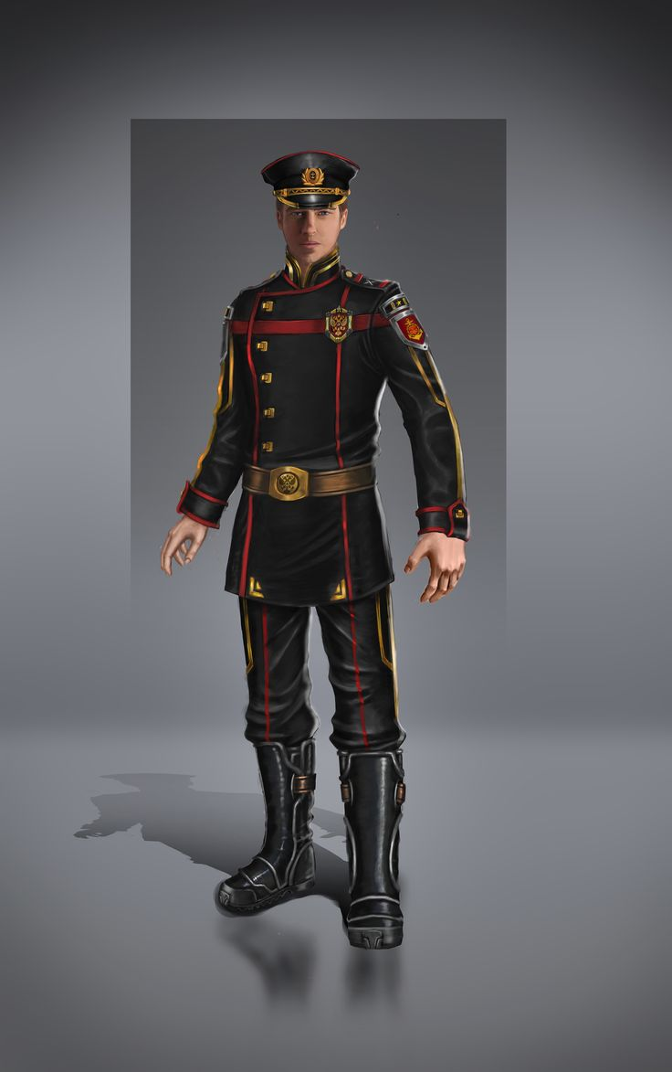 Military Fi Sci Uniform Officer