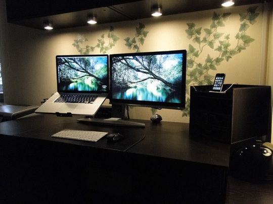 Lovely Gorgeous Apple Home Office Configurations From Istanbul