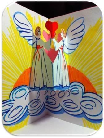 Изобразительное искусство Art Teacher: Новогодние открытки своими руками
