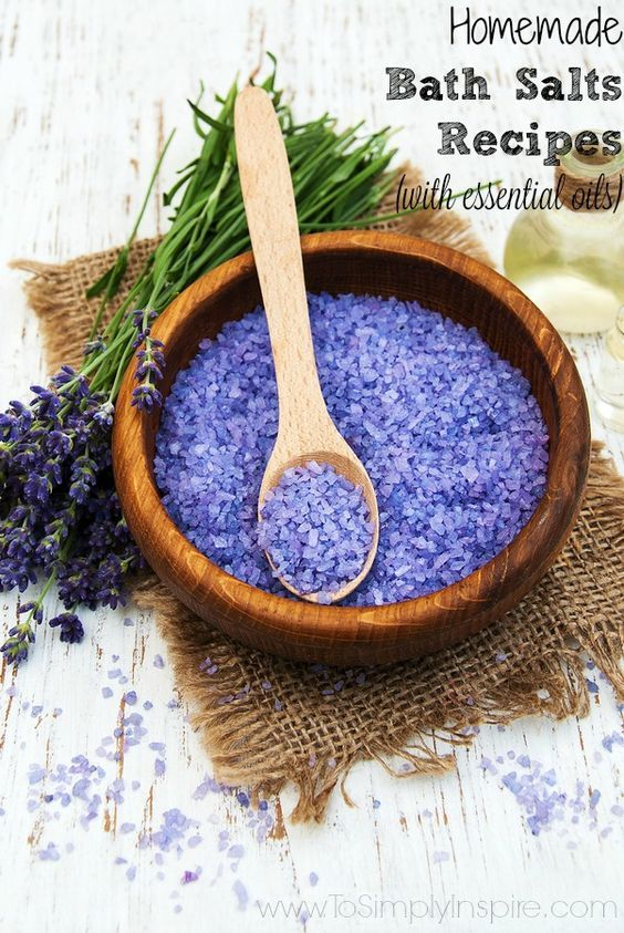 These Homemade Bath Salts Recipes are a quick and easy way to pamper yourself with an ultra relaxing bath. They make the perfect gifts too.