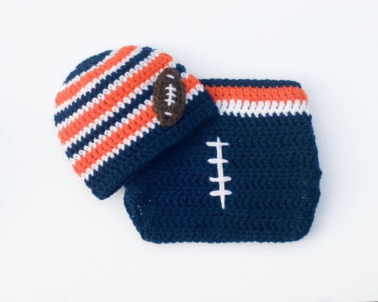Knit Pattern Baby Football Hat : Best 25+ Crochet football hat ideas on Pinterest Crochet football, Crochet ...