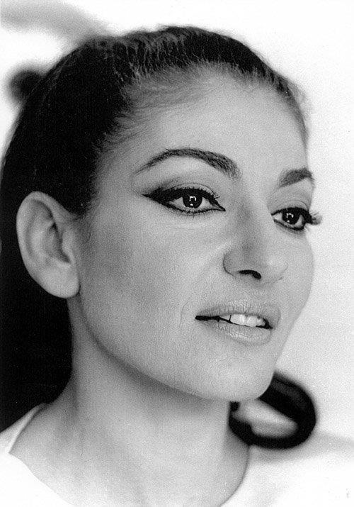 Maria Callas , 1958