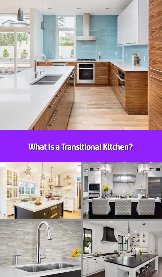 What Is A Transitional Kitchen Transitional Is The Most Popular Kitchen Design In The National Kitchen Bath Association S 2019 In 2020