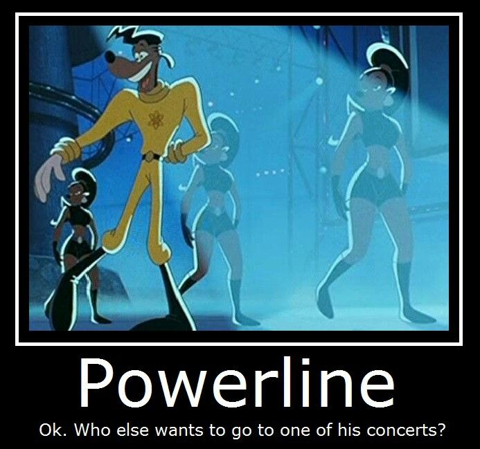 """Powerline from """"A Goofy Movie"""""""