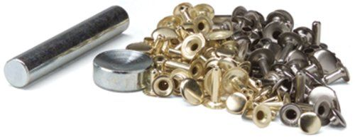 #creative #TANDY #LEATHER FACTORY-Easy-To-Do Series Rapid Rivets Kit. This rivet kit contains sixty assorted rivets (brass and nickel plated; small; medium and la...