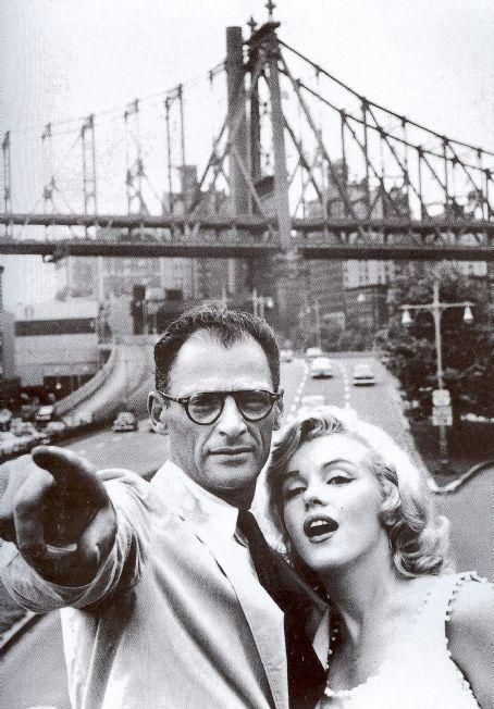 It's amazing what you can accomplish just by asking. (Marilyn and Arthur Miller)