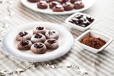 * Kakaové sádlovky jsou křehké, akorát sladké a marmeláda v nich chutná bezkonkurenčně; Jakub Jurdič