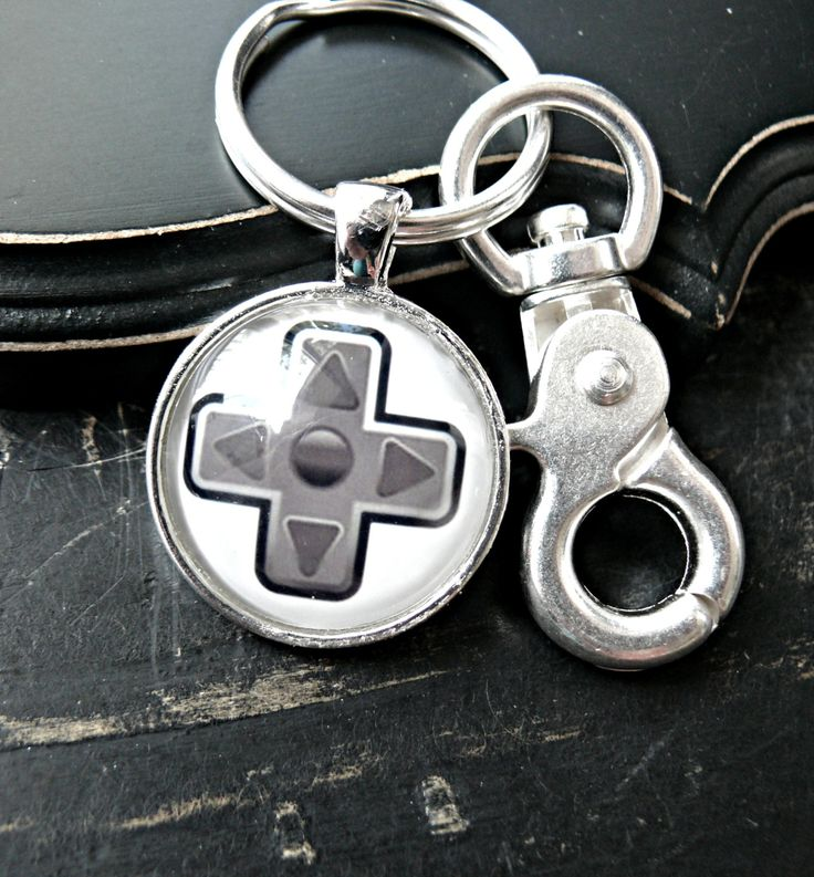 Mens Teen Boys Game Controller Keychain - Game Controller Keychain - Geek Keychain - Gift For Him - Geek Gaming Controller Keychain by yourcharmedlife on Etsy
