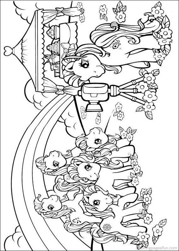 My Little Pony Coloring Pages 32