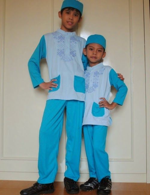 Model Baju Muslim Anak Laki Laki Terbaru 2015