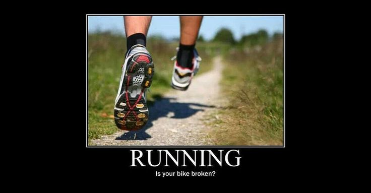 RUNNING... Is you bike broken?
