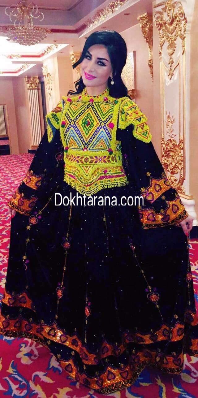 Afghan style dresses