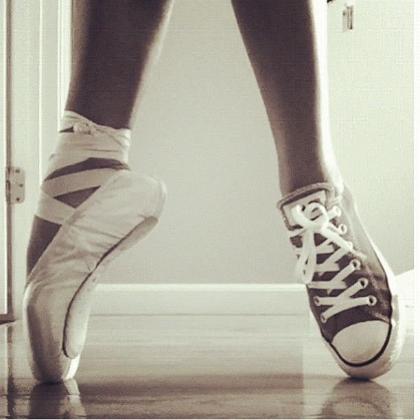 52 best images about converse & pointe shoes on Pinterest ...