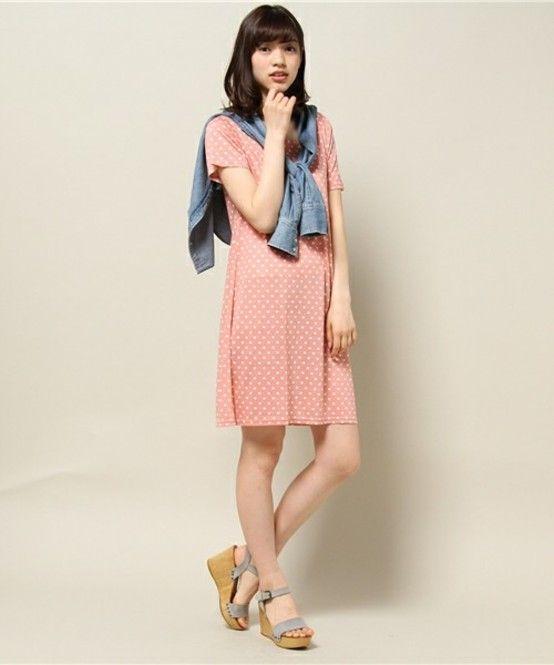ラブリードットはこう着る♡おしゃれなドットコーデまとめ、スタイル・ファッションの参考に♡