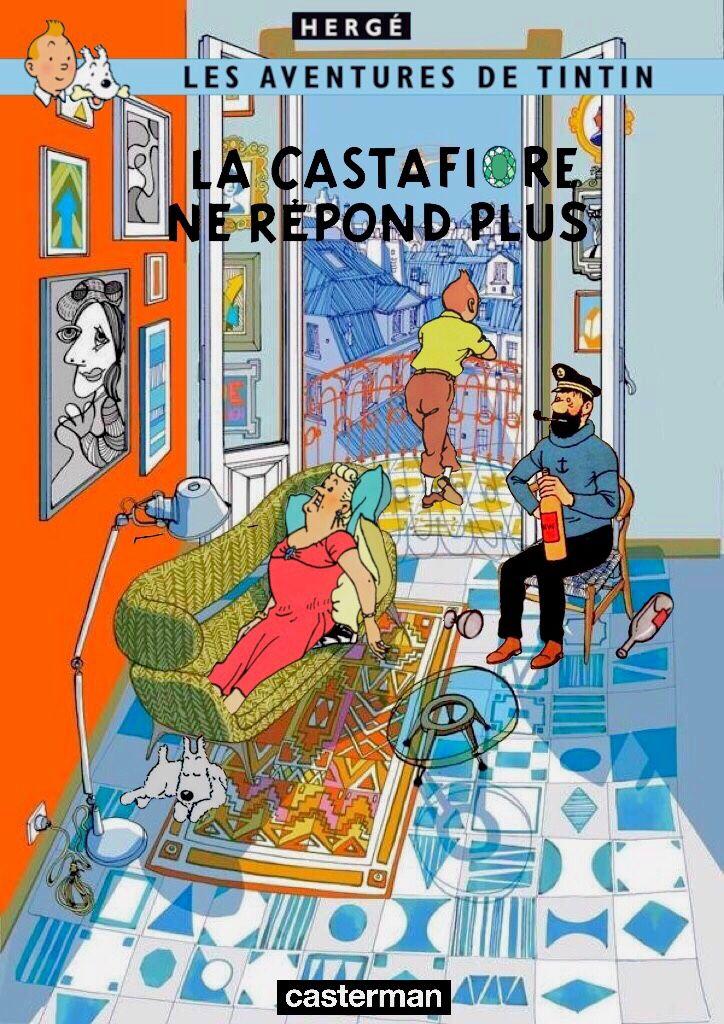 Les Aventures de Tintin - Album Imaginaire - La Castafiore ne Répond Plus