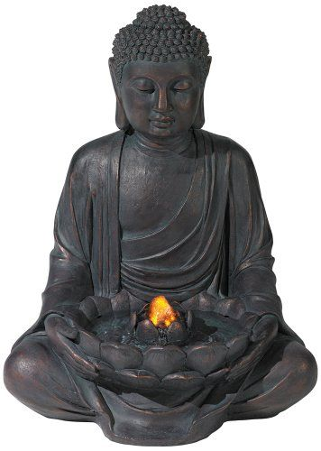 Meditating Aged Bronze Buddha LED Indoor/Outdoor Fountain Lamps Plus http://www.amazon.com/dp/B0041WM8IU/ref=cm_sw_r_pi_dp_bYoqvb0AHJS6Y