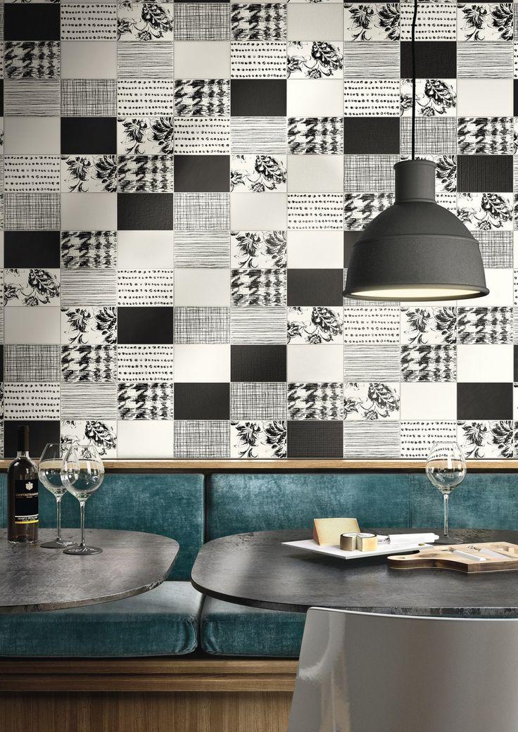 Double-fired ceramic wall tiles KIKO by Cooperativa Ceramica d'Imola