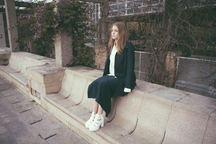 Blue et blanc, editorial de moda (Laura Rodellas photography)