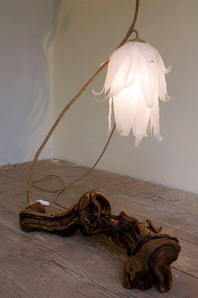 Lamps Of Natural Material #lamps #greendesign