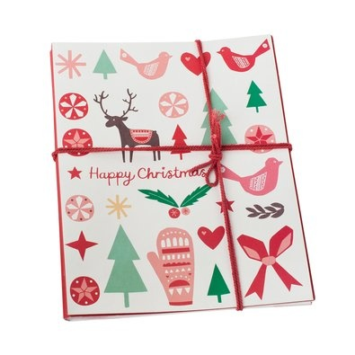 Large Christmas Goodie Bag 5pk $9.95 - For those slightly bigger gifts on the go, these Large Goodie Bags give you convenience and style in one gorgeous gift wrap option.