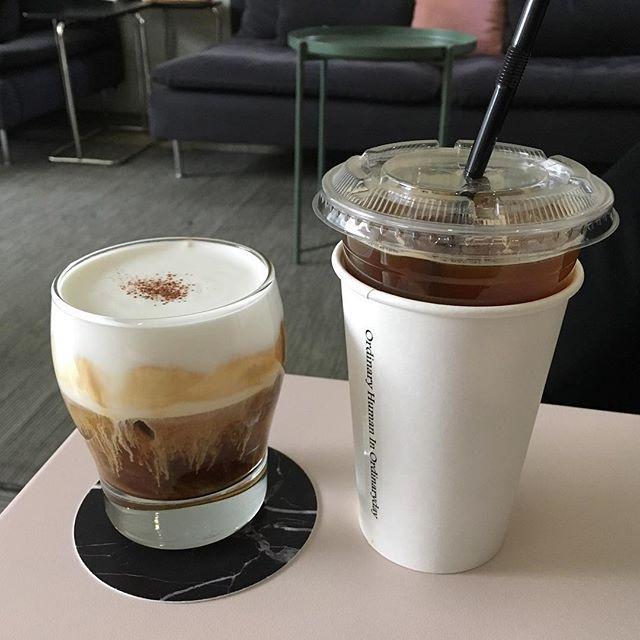 WEBSTA @ bbangcho52 - 요새 진짜 #비엔나 만 마신다는ㅋㅋㅋㅋㅋㅋㅋ여기 #크림 맛있어...🙈🙊❤#커피 에 맛들이는즁👀..#대구#동성로#카페오하이오#오하이오#아인슈페너
